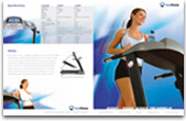Keys Fitness Products - 4500/5500 Treadmill Brochure
